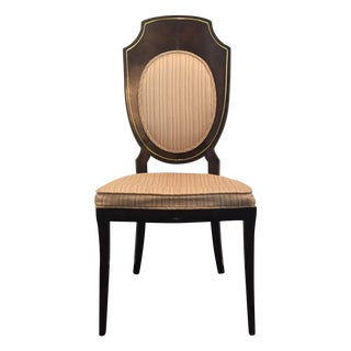 Amboyna Burl Dining Chairs by Mastercraft - Set/4