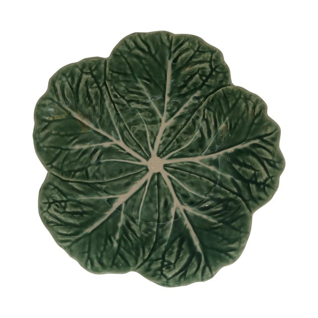 Green Lettuce Ware Bowl - Image 1 of 6