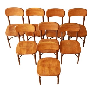Heywood-Wakefield Children's Chairs - Set of 8