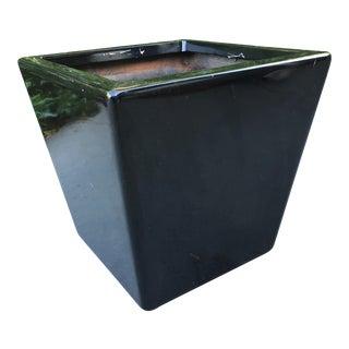 Decorative Glossy Black Container