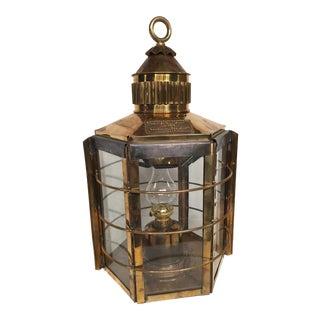 1869 'Clipper Ship Lamp' Lantern, Dumbarton, Scotland
