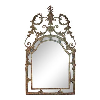 Huge Iron Mirror