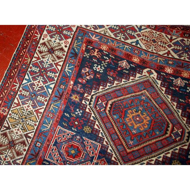 Antique Caucasian Shirvan Rug- 4′9″ × 7′10″ - Image 10 of 10