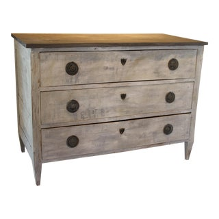 Swedish Style Painted Pine Chest of Drawers