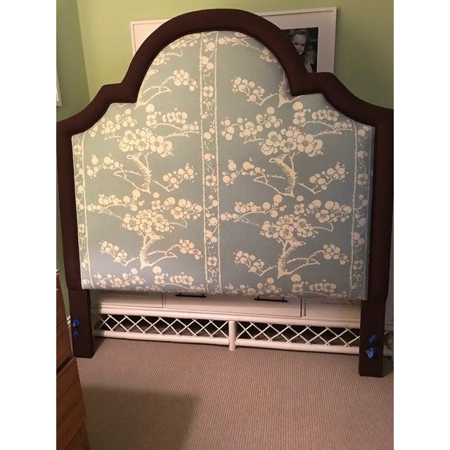 Custom Upholstered Queen Size Headboard - Image 3 of 3