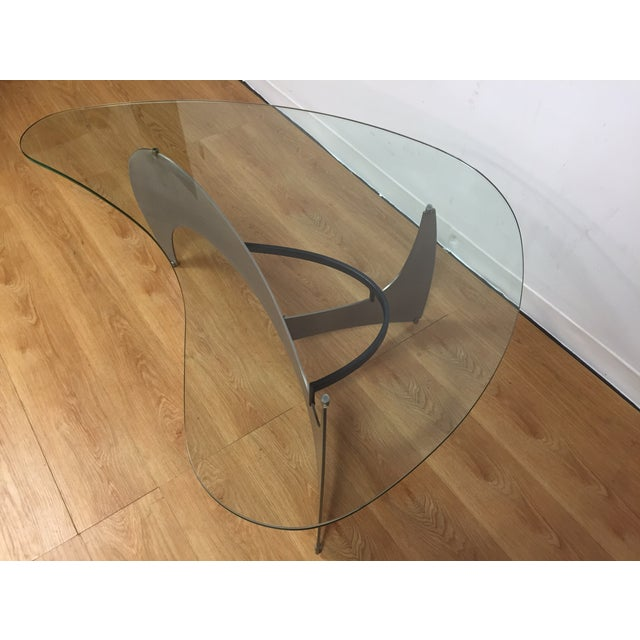Steel & Glass Coffee Table - Image 4 of 10
