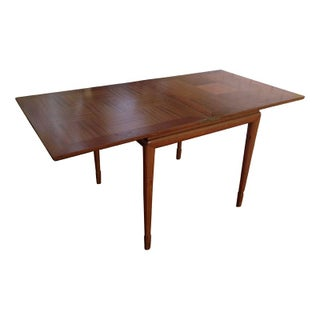 Mid-Century Expandable Game or Dining Table