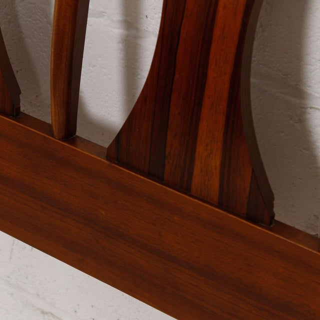 Image of Kent Coffey Perspecta Walnut & Rosewood Headboard