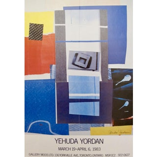 1983 Canadian Exhibition Poster, Yehuda Yordan