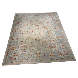 "Bellwether Vintage Inspired Turkish Oushak Rug- 10'5"" x 12'1"""