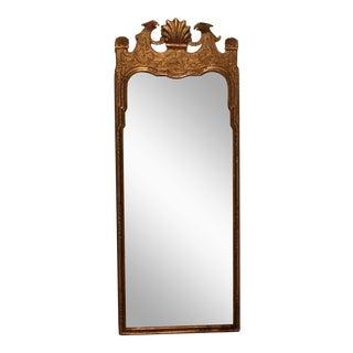George III Style Giltwood Beveled Mirror