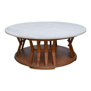 Wormley for Dunbar Style Walnut Coffee Table, 1960s, USA