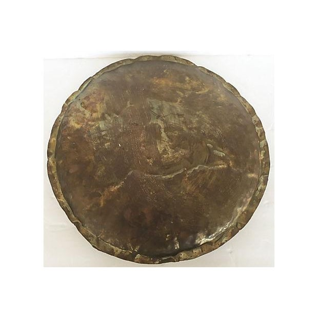 Image of Silver & Geode Brass Plate