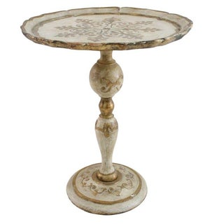 Italian Florentine Pedestal Table