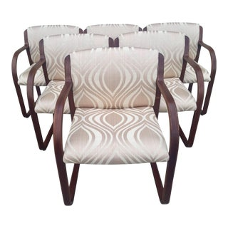 Warren Snodgrass Modern Bentwood Chairs - S/6