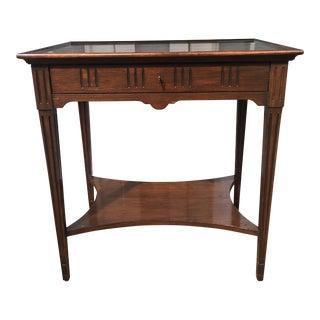 David Latesta Louis XVI Cherry Side Table