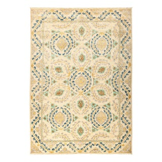 """Suzani, Hand Knotted Area Rug - 6' 3"""" X 8' 10"""""""