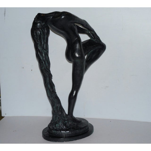 """Sultry Awakening"" Sculpture by Klara Sever 1979 - Image 3 of 9"