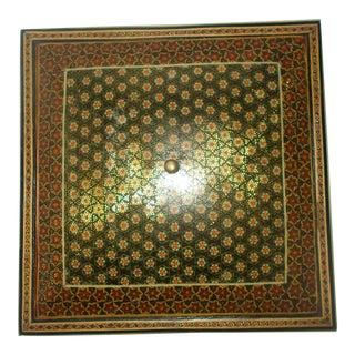 Vintage Persian Khatam Marquetry Box