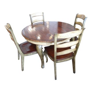Hooker Round Dining Table & Chairs Set