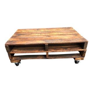 Industrial Wood Pallet Coffee Table