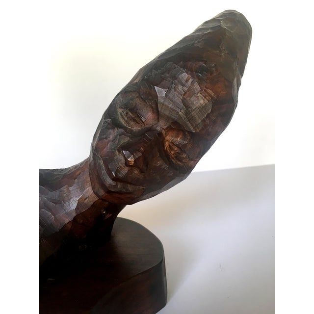 Carved 2-Headed African Bust - Image 6 of 11