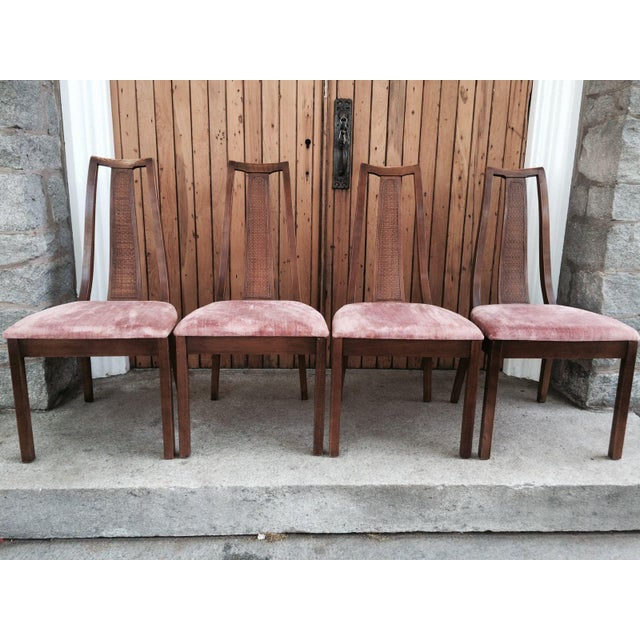 Paine Mid Century Modern Dining Chairs - Set of 4 - Image 2 of 8