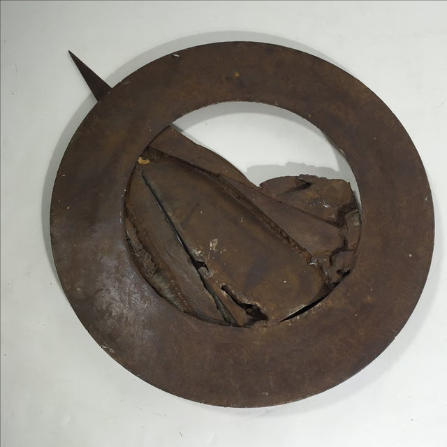 Image of Brutalist Sculpture 1960 Iron