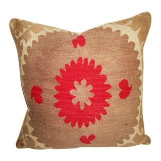 Vintage Suzani Bolinpush Accent Pillow