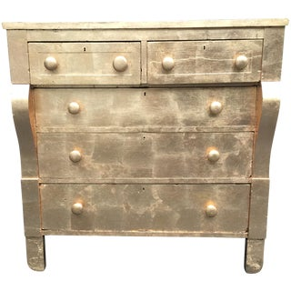 Hollywood Regency Gold Leaf Empire Dresser