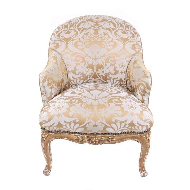 French Antique Napoleon III Armchair - Image 2 of 7