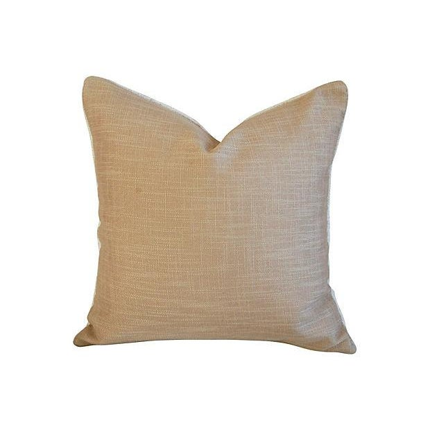 Red Stripe Textile & Linen Pillows - Set of 3 - Image 7 of 7