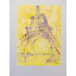 Sunlight on the Tour Eiffel, Monotype