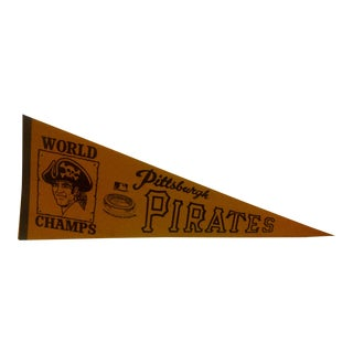 Vintage World Champs Team Pennant Circa 1970