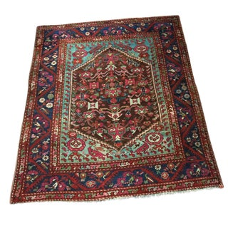Antique Turkish Rug - 4′8″ × 5′5″