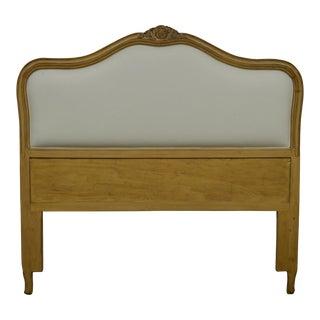 Avery Boardman French Louis XV Style Queen Size Upholstered Back Headboard