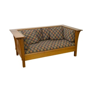 Stickley Mission Collection Prairie Loveseat