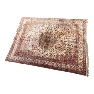 Art Deco Silk Persian Rug 9 X 12
