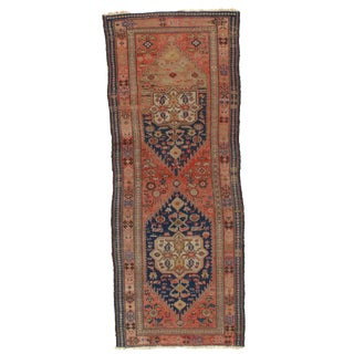 "Pasargad NY Antique Persian Malayer Hand-Knotted Rug - 3'5""x8'10"""