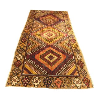 "Bellwether Rugs Vintage Turkish Oushak Rug - 4'1""x8'11"""