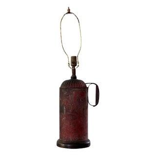 Vintage Canco Metal Lamp