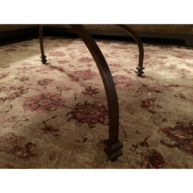 Pottery Barn Willow Antiqued Coffee Table - Image 8 of 8