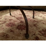 Image of Pottery Barn Willow Antiqued Coffee Table