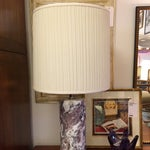 Image of Marble Cylinder Table Lamp