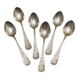 Sterling Silver Demitasse Spoons- Set of 6