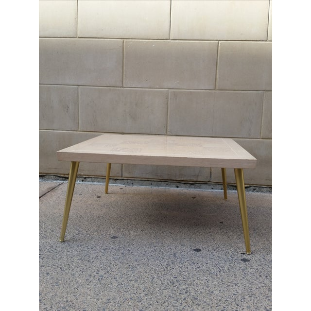 Lane Parquet-Top Coffee Table - Image 2 of 8