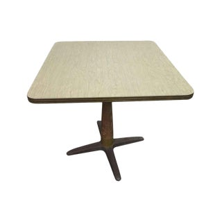 1940s Formica Top Cafe Table