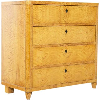 Northern European Birch Chest of Drawers