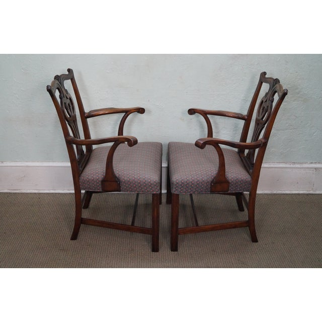 Mahogany Chippendale Armchairs - A Pair - Image 3 of 10