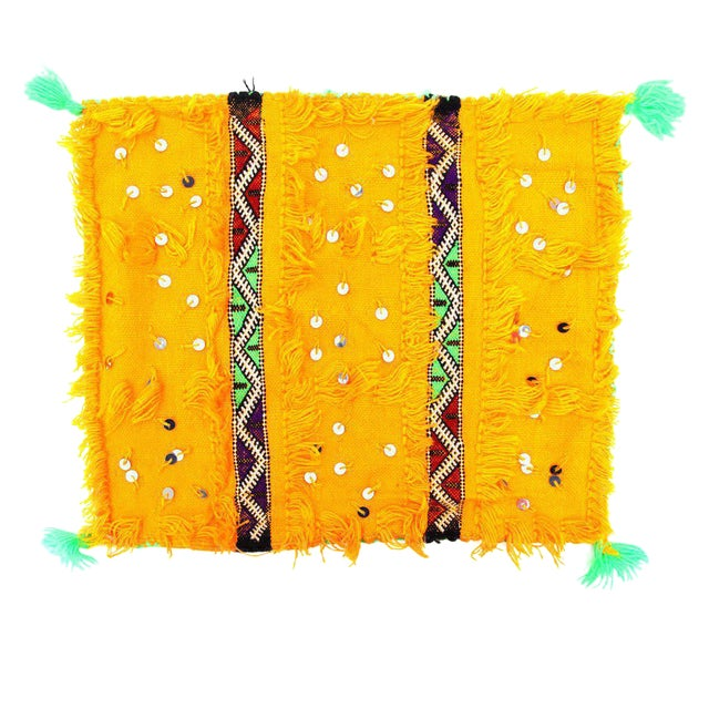 Yellow Moroccan Wedding Pillow Case - Image 1 of 2